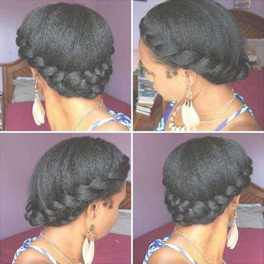 Quick Easy Protective Hairstyles For Natural Hair Regarding Best And Newest Medium Haircuts For Transitioning Hair (View 18 of 25)