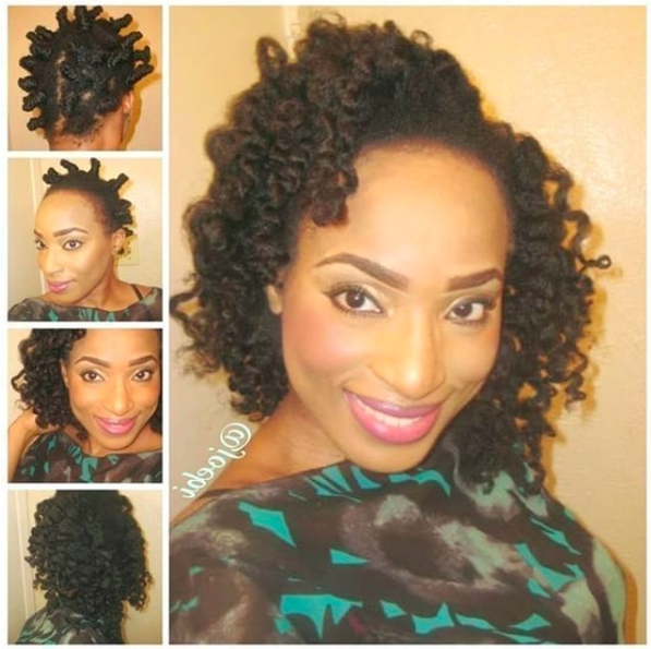 Quick Easy Protective Hairstyles For Natural Hair With Latest Medium Haircuts For Transitioning Hair (View 19 of 25)