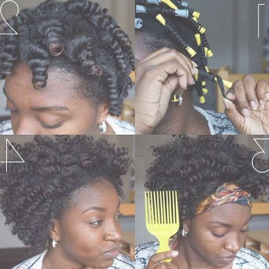 Quick Easy Protective Hairstyles For Natural Hair Within Current Medium Haircuts For Transitioning Hair (View 3 of 25)