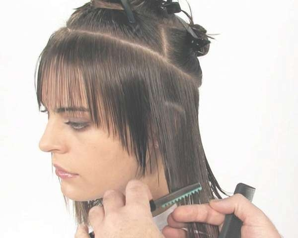 Displaying Gallery of Razor Cut Medium Hairstyles (View 19 of 25 Photos)