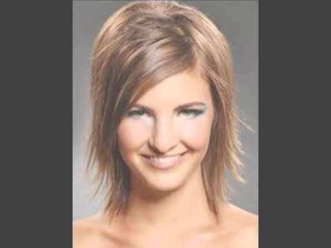 Razor Haircuts For Medium Length Hair – Youtube For Latest Razor Cut Medium Hairstyles (View 5 of 25)