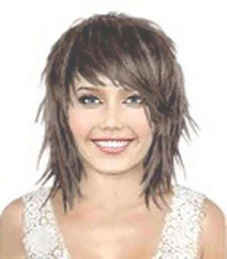 Razor+Haircuts | Razor Cut Medium Hairstylerazor Cut Medium With Most Up To Date Razor Cut Medium Hairstyles (View 2 of 25)