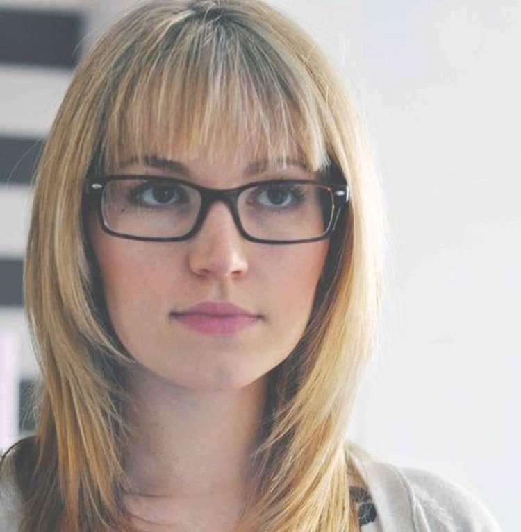Really Quick Medium Hair Glasses With Regard To Current Medium Hairstyles With Glasses (View 4 of 25)