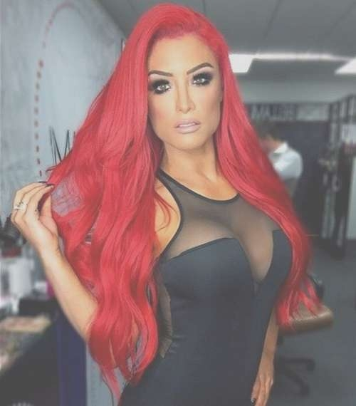 Red Hair Color Ideas – 20 Hot Red Hairstyles For You To Choose Inside Recent Bright Red Medium Hairstyles (View 3 of 15)