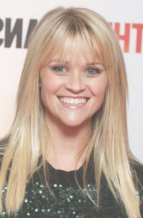 Reese Witherspoon Long Hairstyle: Wispy Bangs – Pretty Designs Pertaining To Most Up To Date Medium Haircuts With Wispy Bangs (View 21 of 25)
