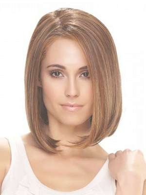 Round Face Hairstyles   Cool Hairstyles With Most Current Medium Haircuts Bobs For Round Faces (View 7 of 25)