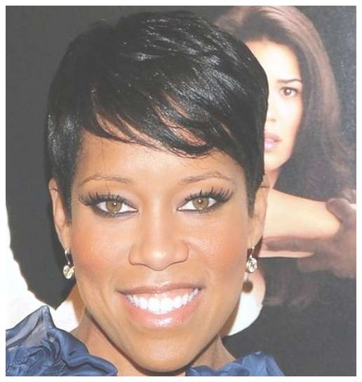 Round Face Short Black Hairstyles With Regard To Most Up To Date Medium Haircuts For Round Faces Black Women (View 23 of 25)