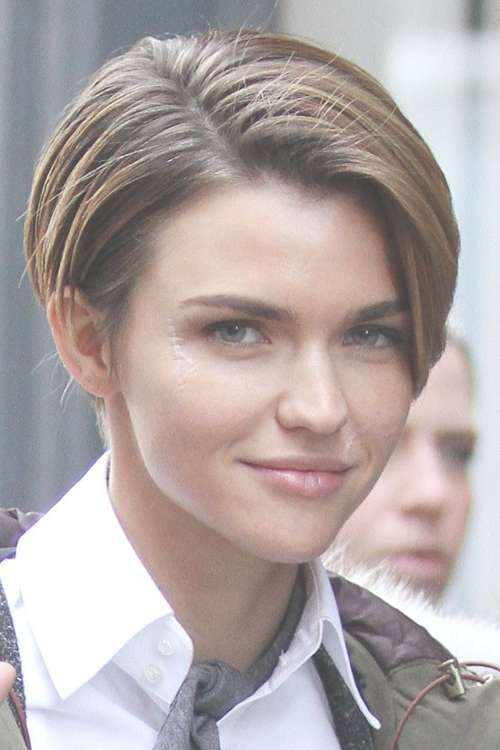 Featured Photo Of Ruby Rose Medium Hairstyles