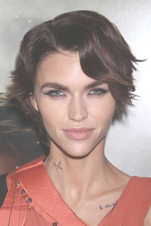 Ruby Rose's Hairstyles & Hair Colors | Steal Her Style With Regard To Recent Ruby Rose Medium Hairstyles (View 13 of 15)