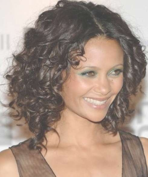 Sexy Medium Curly Hairstyles – Hairstyles Weekly With Most Up To Date Sexy Black Medium Hairstyles (View 11 of 15)