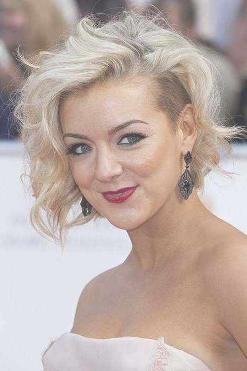 Shaved Side Wavy Hair From Sheridan Smiths Hairstyles – Bobs – 15 Inside Most Recently Medium Hairstyles With Shaved Sides (View 17 of 25)