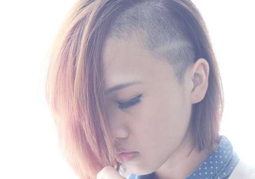Shaved Sides Women Hair – Best Haircut Style In Latest Medium Hairstyles One Side Shaved (View 15 of 15)