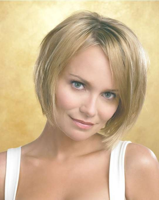 Short Bob Haircut For Straight Hair: Kristin Chenoweth Hairstyles In Bob Haircuts For Straight Hair (View 3 of 25)