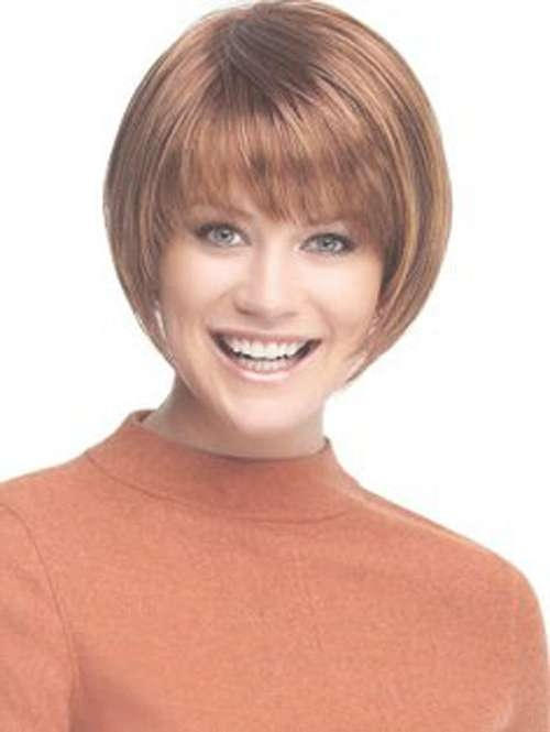 Short Bob Hairstyles With Bangs Soft Fringe – Cool & Trendy Short For Short Bob Hairstyles With Bangs (View 21 of 25)
