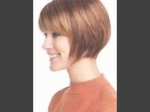 Short Bob Hairstyles With Bangs – Youtube With Regard To Short Bob Hairstyles With Bangs (View 16 of 25)