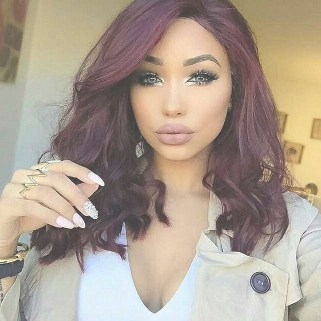 Short Burgundy Hair – Hairstyles Website Number One In The World Regarding Most Recent Burgundy Medium Hairstyles (View 14 of 15)