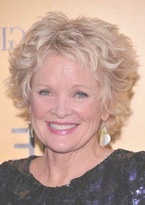 Gallery of Medium Haircuts For Older Women With Curly Hair (View 10 ...
