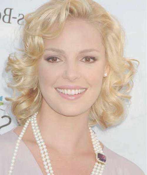 Gallery of Medium Haircuts For Thin Curly Hair (View 3 of 15 Photos)