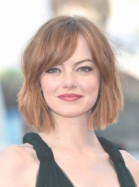 Short Hair For Fat Face – Hairstyle Fo? Women & Man Within Most Current Medium Hairstyles For Round Chubby Faces (View 14 of 25)