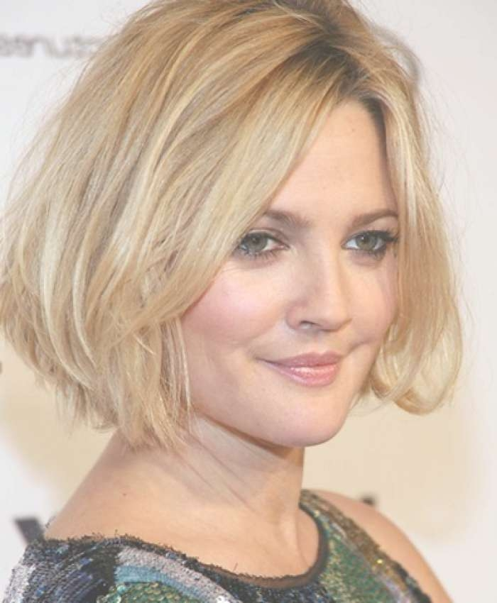 Short Hair Medium Length Hairstyles For Round Faces Pertaining To Newest Medium Haircuts For Round Face Women (View 24 of 25)