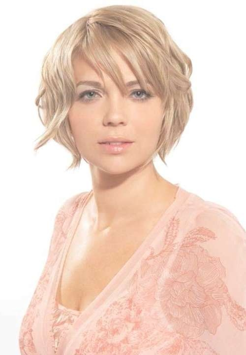 Short Haircuts For Chubby Faces | Short Hairstyles 2016 – 2017 Intended For Most Popular Low Maintenance Medium Haircuts For Round Faces (View 7 of 25)