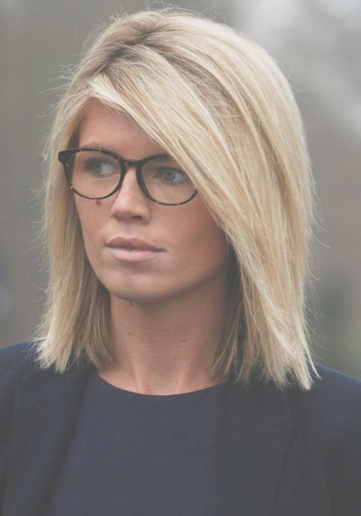 Short Haircuts For Women With Glasses | Hair Style And Color For Woman Regarding Most Recently Medium Hairstyles With Glasses (View 15 of 25)