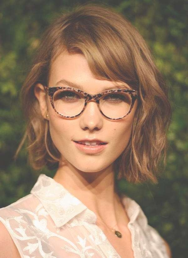 Short Haircuts Women With Glasses | My Hairstyles Site Pertaining To Current Medium Hairstyles For Women With Glasses (View 6 of 15)