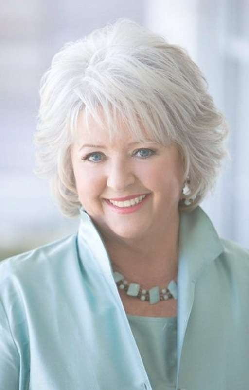 Short Hairstyle For Mature Women Over 60 From Paula Deen | Paula In Most Recent Medium Haircuts For Mature Women (View 14 of 25)