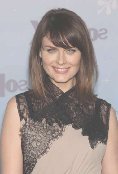 Short Hairstyles 2012: Medium Length Hairstyles With Bangs For Latest Medium Hairstyles With Short Bangs (View 19 of 25)