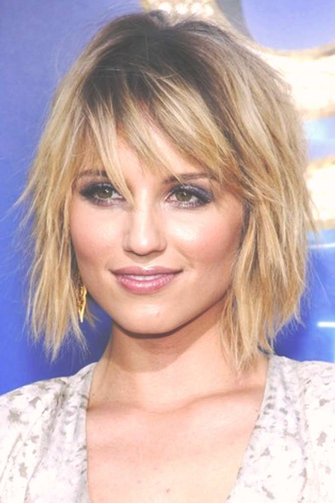 Short Hairstyles: Awesome Simple Short Medium Hairstyles 2016 In Best And Newest Choppy Medium Haircuts For Fine Hair (View 6 of 25)