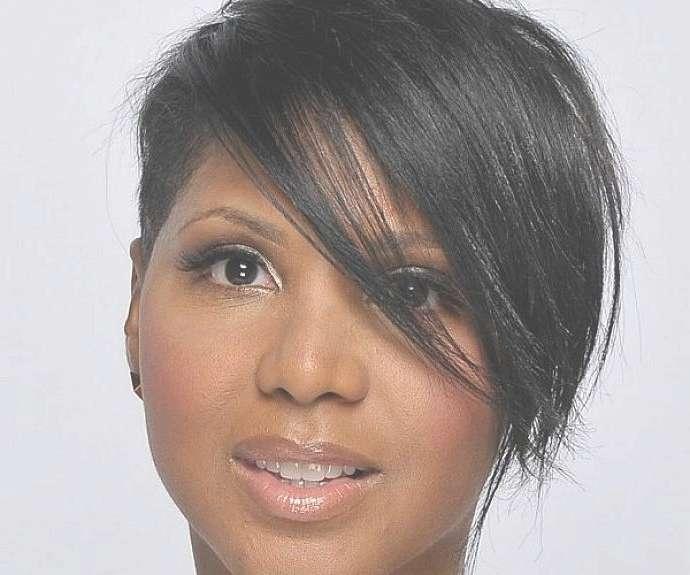 Short Hairstyles For Black Women Thin Hair Medium Hair Styles With Regard To Latest Medium Hairstyles On Black Women (View 12 of 25)
