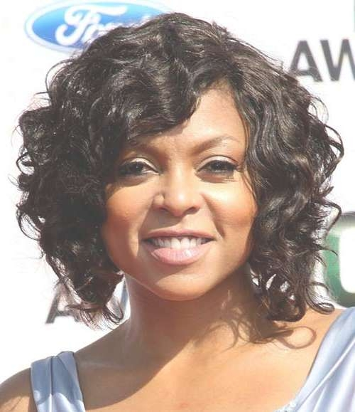 Short Hairstyles For Black Women With Round Faces   Short With Current Medium Hairstyles For African American Women With Round Faces (View 9 of 15)