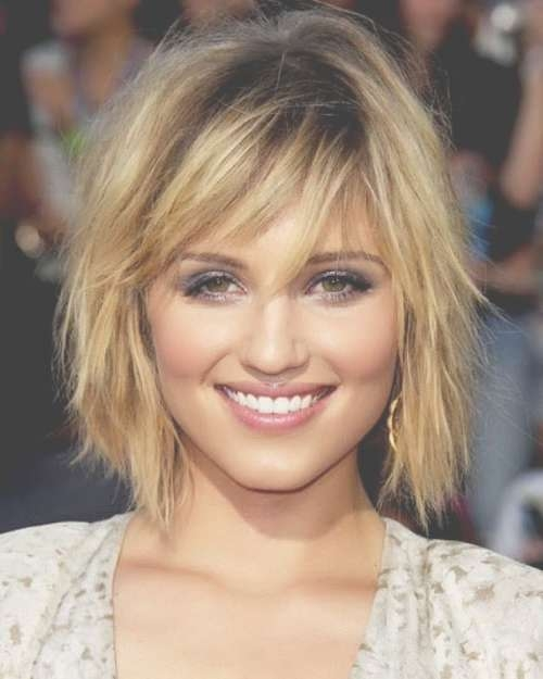 Short Hairstyles For Square Faces And Fine Hair | Hairstyle Trends In Recent Medium Haircuts For Square Face (View 14 of 15)