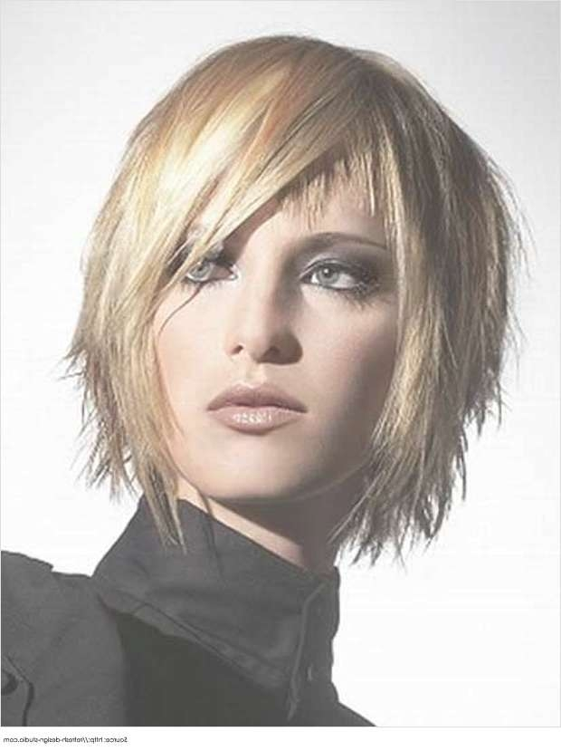 Short Hairstyles For Thick Hair | Short Hairstyles For Women Within Best And Newest One Side Short One Side Medium Hairstyles (View 4 of 25)