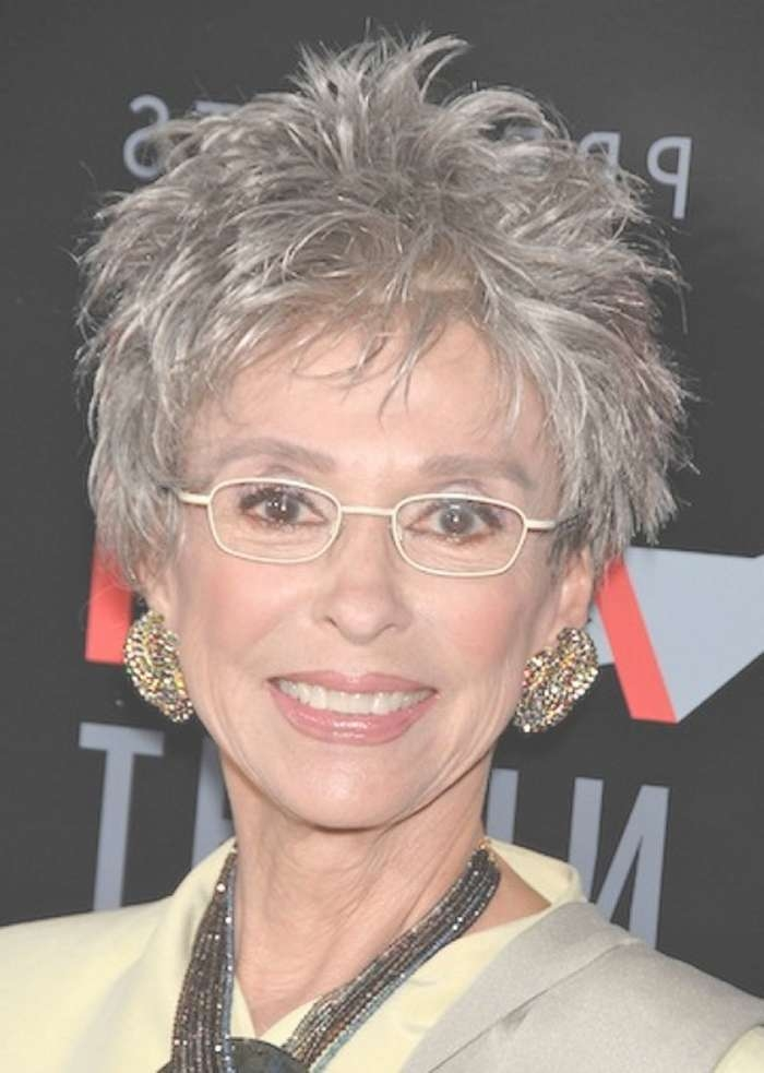 Short Hairstyles For Women Over 60 Who Wear Glasses – Hairstyles Blog For Newest Medium Hairstyles For Women Who Wear Glasses (View 9 of 15)