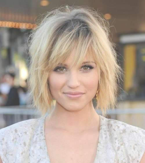 Short Hairstyles: Medium Short Hairstyles For Fine Hair Layered Within Most Recently Medium Hairstyles With Layers For Fine Hair (View 14 of 25)