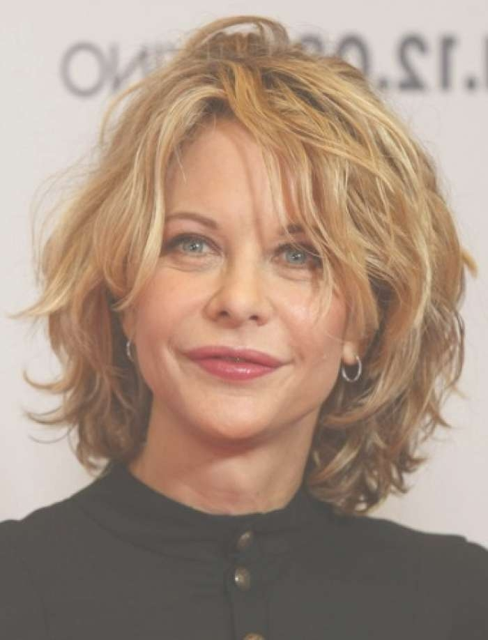 Short Hairstyles : Medium Short Hairstyles With Bangs Gorgeous With Regard To Recent Medium Hairstyles For Oval Faces And Thin Hair (View 10 of 25)