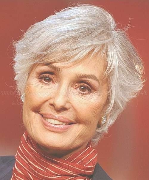 Short Hairstyles Over 50 – Short Hairstyle For Gray Hair   Trendy Inside Most Current Medium Haircuts For Grey Haired Woman (View 19 of 25)