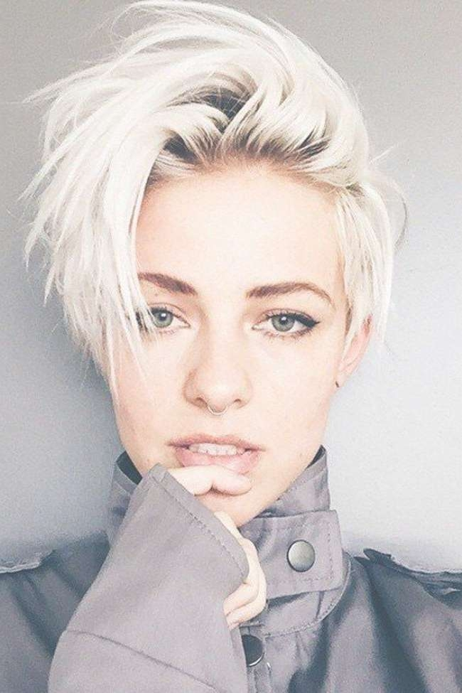 Short Hairstyles : Short Female Hairstyles With Shaved Sides Short With Regard To Latest Medium Hairstyles With Shaved Sides (View 14 of 25)