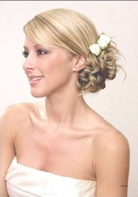 Short Hairstyles Short Hairstyles For A Wedding Bridesmaid New Regarding Most Recently Medium Hairstyles For Weddings For Bridesmaids (View 14 of 15)