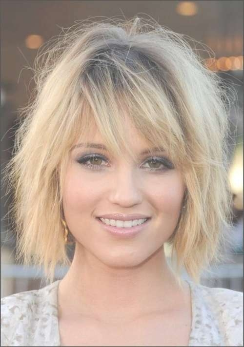 Short Hairstyles: Short To Medium Hairstyles For Thick Hair With Regard To Recent Medium Medium Haircuts For Thick Hair (View 7 of 25)