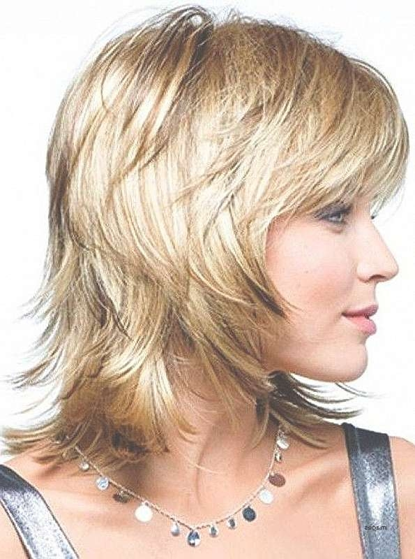 Short Hairstyles Short To Medium Layered Hairstyles For Fine Hair Throughout 2018 Medium Haircuts Over (View 17 of 25)