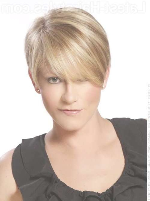 Short Hairstyles: Very Cute Current Short Hairstyles Simple Ideas Intended For Newest Medium Hairstyles Cut Around The Ears (View 15 of 15)
