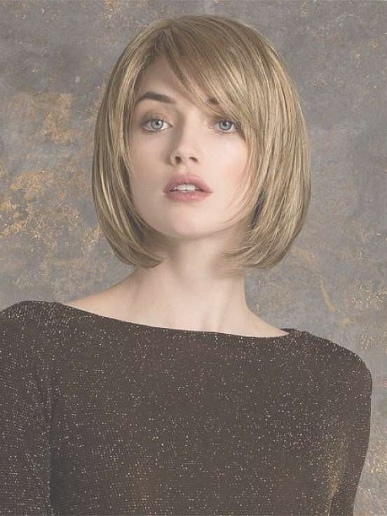Short Layered Bob Hairstyles For Round Faces | Gardening Within Most Up To Date Medium Hairstyles For Square Faces And Thick Hair (View 10 of 15)