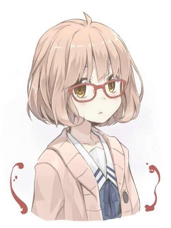 Anime wavy hair male