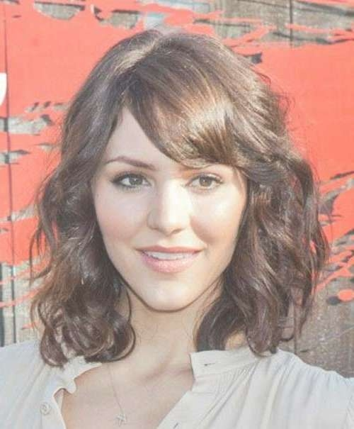 Short Medium Curly Hairstyles | Short Hairstyles 2016 – 2017 Pertaining To Most Recent Curly Medium Hairstyles With Bangs (View 7 of 25)