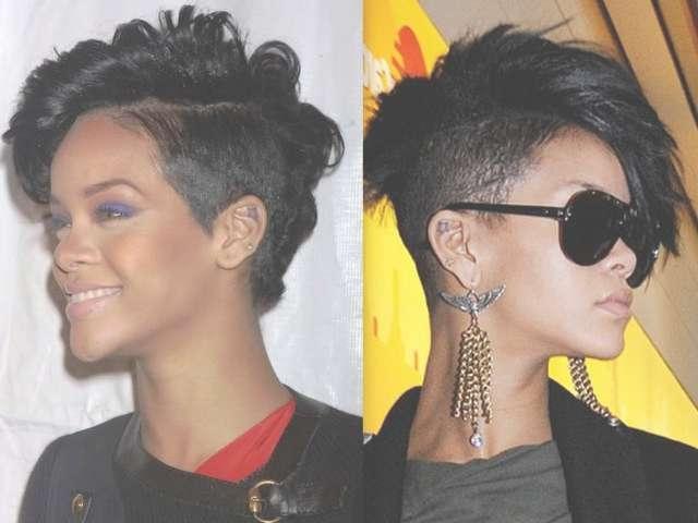 15 Best Ideas Of Mohawk Medium Hairstyles For Black Women