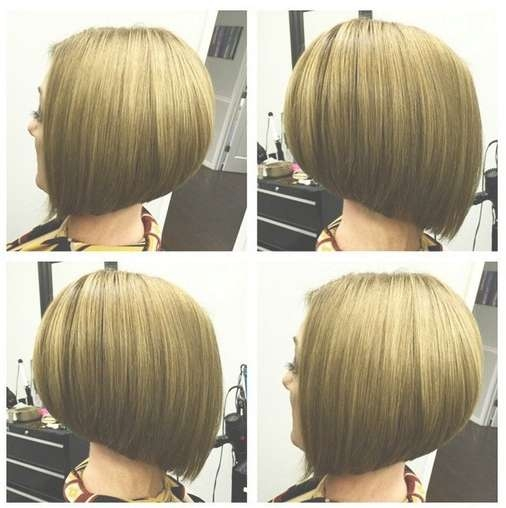 Short Straight A Line Bob Haircut For Girls – Hairstyles Weekly Pertaining To Line Bob Haircuts (View 23 of 25)