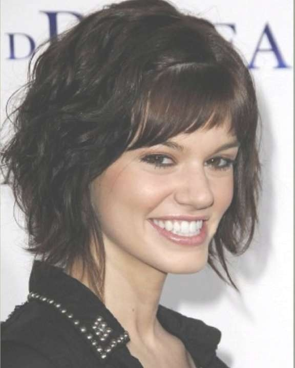 Short To Medium Hairstyles For Thick Hair | Hairjos Throughout Most Up To Date Medium Haircuts For Thick Hair With Bangs (View 19 of 25)