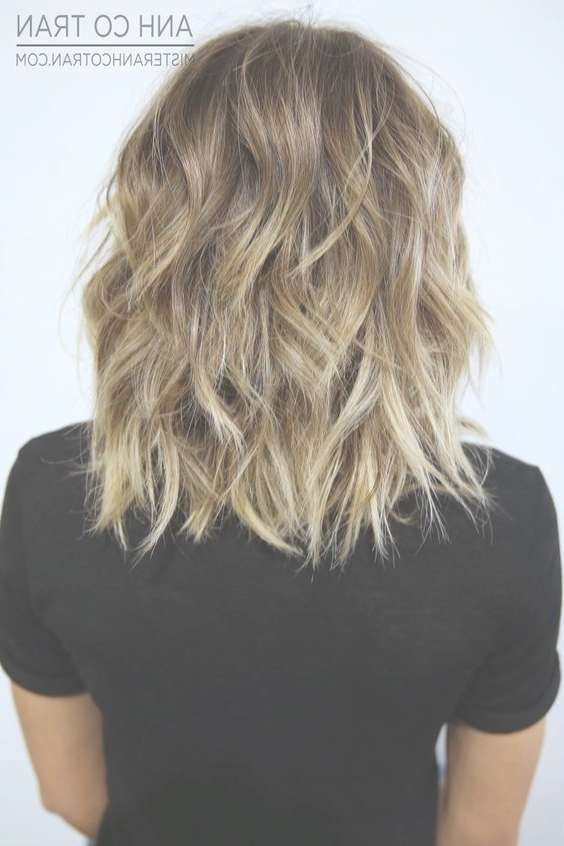 Short To Medium Length Hairstyles For Thick Wavy Hair Pertaining To Most Recently Thick Wavy Medium Haircuts (View 3 of 25)